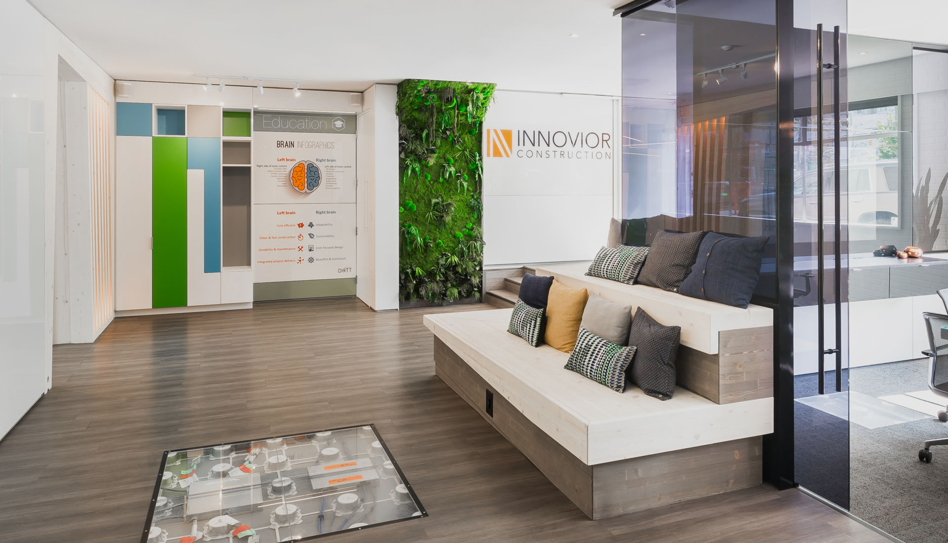 Innovative Corporate Office Space Interior Design Company Toronto, Vancouver, Halifax