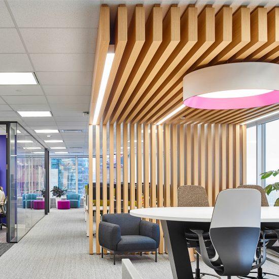 Corporate Office Interior Design Downtown Toronto
